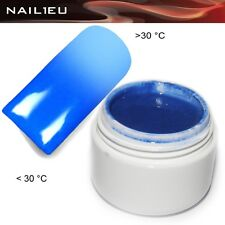 UV Thermo Gel 04 Clicker Blue Light 5ml / Nail ColorGel Color coloured