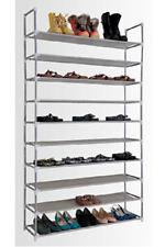 Schuhregal 50 Paar Schuhständer Schuh Schrank Ablage Regal Ständer 10 Ebenen