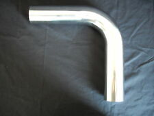 STAINLESS STEEL EXHAUST TUBE BENDS 90 DEGREES 2 INCH FULLY POLISHED