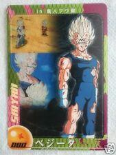 JAPAN DRAGONBALL MORINAGA Chocolate Wafer SuShuu Card Majin VEGETA DXE11-04-080