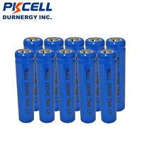 10 x 10440 AAA Größe Akkus Li-ion wiederaufladbare Batterien Bateria PKCELL