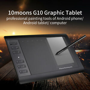 10moons G10 Graphic Drawing Tablet Board 8192 Digital Levels Laptop Computer