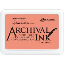 U Choose) 14 Ranger Wendy Vecchi Archival Ink Pads Large Acid Permanent Tea Rose