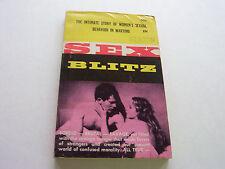 SEX BLITZ  1961   SORDID - BRUTAL - SAVAGE WAR TIME EROTICA   VERY GOOD