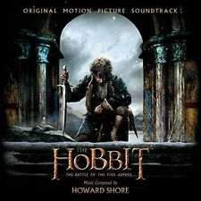 The Hobbit: The Battle of the Five Armies - Motion Picture Soundtrack 2 New CD