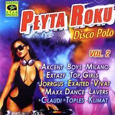 = PLYTA ROKU DISCO POLO HITY vol.2 / 2016 /CD Sealed Poland /disco polo & dance