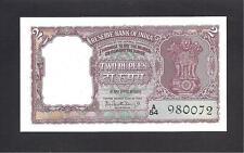 India p-30 , AUNC, 2 Rupees, 1962 - 1967