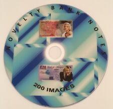 200 Nouveauté billet de banque images CD origines Celebrity DECOUPIS films Celebrity