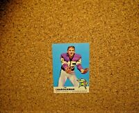 1969 Topps Football #104 Ed Sharockman (Minnesota Vikings)