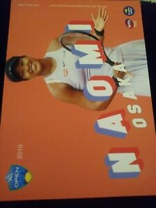 WTA WESTERN & SOUTHERN 5x7 NAOMI OSAKA TENNIS CARD 2019 EDITION GIVEAWAY