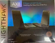 NETGEAR Nighthawk AX8 8-Stream Wi-Fi 6 Router (RAX75)