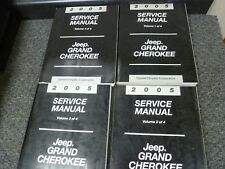 2005 Jeep Grand Cherokee SUV Shop Service Repair Manual Laredo Limited 4 Vol Set