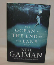 The Ocean at the End of the Lane by Neil Gaiman Hard Cover 1st Edition- Signed