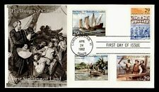 DR WHO 1992 CHRISTOPHER COLUMBUS 500TH ANNIVERSARY FDC C212719