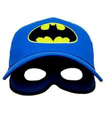 DC Comic Batman Kids Baseball Cap Batman Hat -BLUE