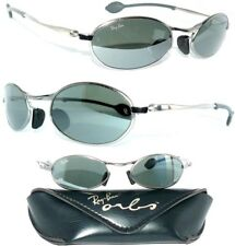 Ray Ban Bausch&Lomb ORBS W2575 GRAU Sonnenbrille OVAL G-15 XLT W2177 N.O.S NEU
