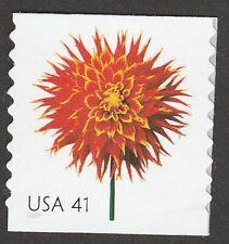 US 4167 Beautiful Blooms Dahlia 41c coil single (1 stamp) MNH 2007