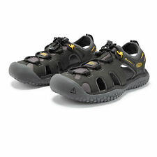 Keen Mens Solr Walking Shoes Sandals - Black Sports Outdoors Breathable