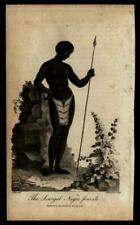 Africa Senegal Woman 1794 ethnic / cultural Chapman engraved view