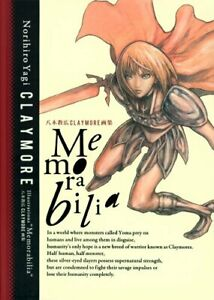 "Norihiro Yagi: Claymore Illustrations ""Memorabilia"" Art Book Used Japan F/S KSMI"