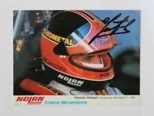New listing F1 Original Autograph V. Piercarlo Ghinzani on Autograph Card