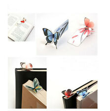 New 3D Butterfly Bookmarks For Beautiful Birthday Gift cute bookmark 1PCS Sf