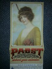 vintage Pabst Beer 1972-1973 School Year Calender