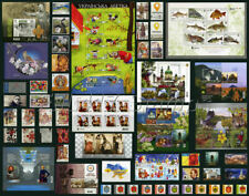 "2019, ""COMPLETE / FULL YEAR SET OF  UKRAINE STAMPS 2019"". 100 different stamps."
