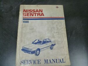 Service Repair Manuals For Nissan Sentra For Sale Ebay