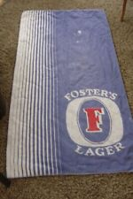 Vintage fosters lager bar towel pub beer beach