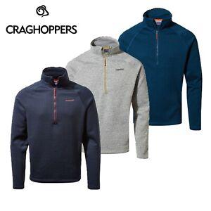 Men's Craghoppers Heelan Golf Walkng Outdoor Half Zip Fleece Jacket RRP £70