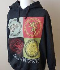 Game of Thrones Womens Size 20 Ladies Hoodie Hoody Official Stark Targaryen Top