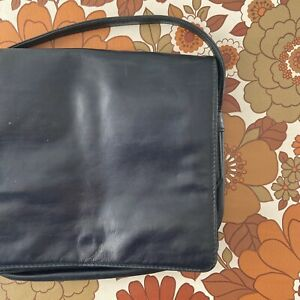 CUTE Vintage 80's Genuine LEATHER Handbag CLASSIC Bag