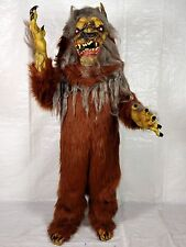DELUXE Oversized Really BIG Really BAD WereWOLF Mascot Style COMPLETE Costume