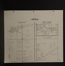 Wisconsin, Waukesha County Map, 1967 Merton, Vernon, Double Sided R2#37