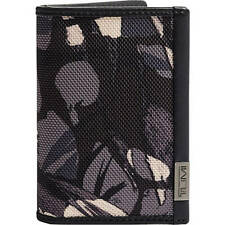 Men's Tumi Alpha Folding Card Case 103517 7499 Muti Window Grey Highland Print