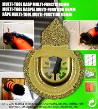 65mm Schleifer Sägeblatt MULTITOOL RASPEL Universal Hobby Funktion Werkzeug HM