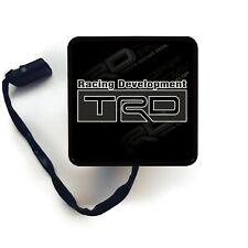 Hitch Cover Art - Toyota TRD Gray - Trailer Receiver LED Brake Light