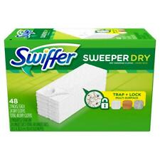 Swiffer Sweeper Dry Cloth Refill Unscented, 48 Ct NEW