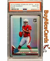 2019 Kyler Murray Panini Optic Holo Silver Prizms Refractor SP RC #152 PSA 10