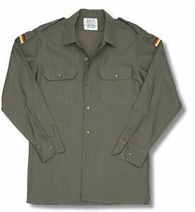 German Army Shirt ~ New Genuine Olive Green German Army Shirt ~ Size GR3 ~ New