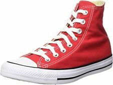 Converse Chuck Taylor High Top Men's Red Canvas with Rubber Sole Shoes US 11.5