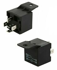 2 Pack 12 Volt 40 Amp SPDT Automotive Relay 5 Pin Prong with Mounting Tab