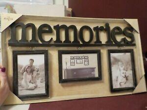 """NIP WALL HANGING PHOTO FRAME """"MEMORIES"""""""