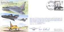 EJA 12 Boulton Paul P111 First Flight 45th anniversary signed RAF cover