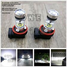 Super Bright H8 H9 H11 H16 6000K White 55W CREE LED Fog Light Conversion Kit
