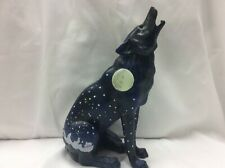 Call of the Wolf #14103 Howling Moon Wolf 2004 Westland Giftware Figurine