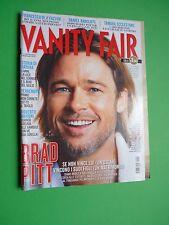 Vanity Fair febbraio 2012 Brad Pitt Daniel Radcliffe Giorgia Wurth