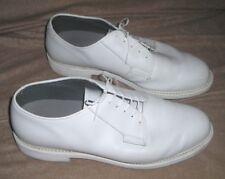 BATES LITES White Leather Oxford USED Retail $159 Style E00131  Size 13 - 3E