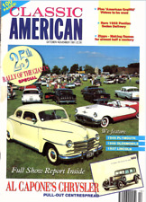 CLASSIC AMERICAN CARS Magazine. #15 Mar 1994 - Al Capone's Chrysler Pull Out